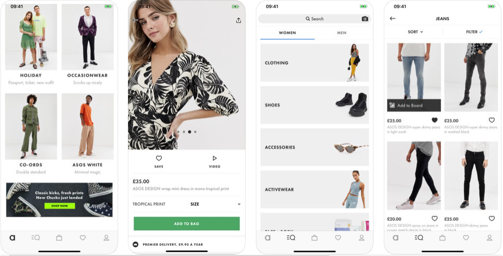 ASOS -shopping apps uk