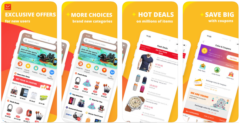 Ali Express -shopping apps uk