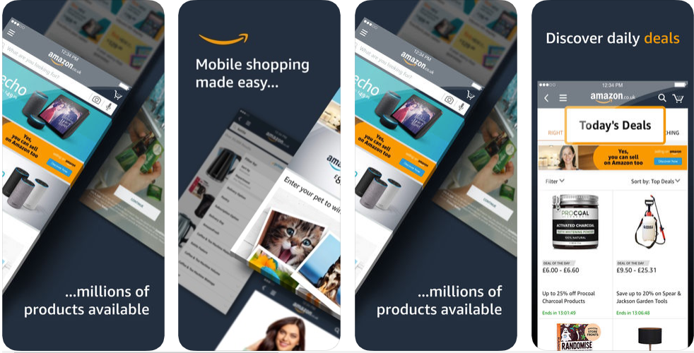 amazon -shopping apps uk
