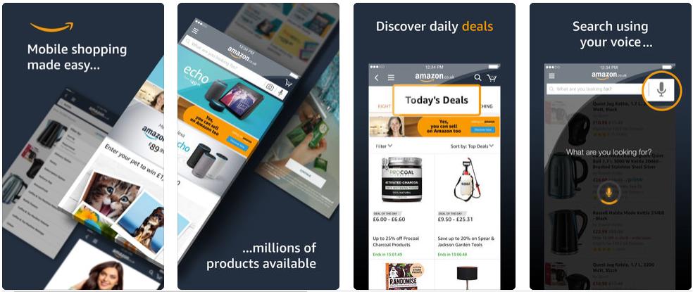Amazon - shopping apps uk