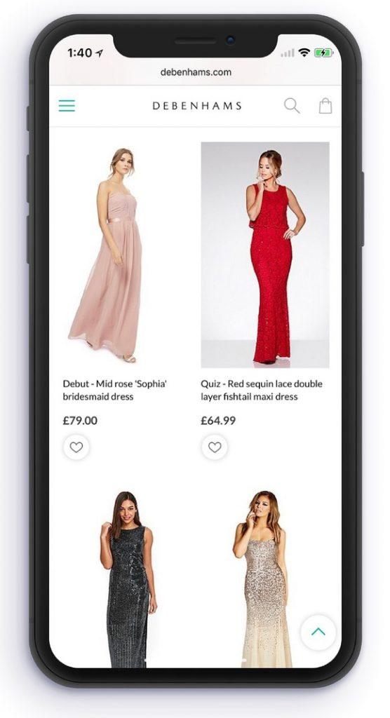 debenhams - shopping apps uk