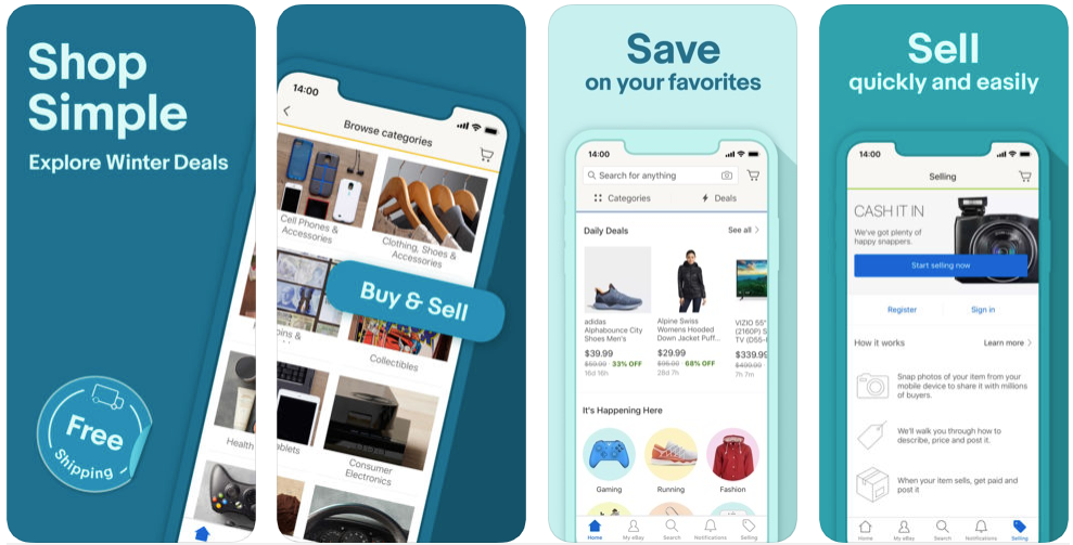 eBay - shopping apps uk