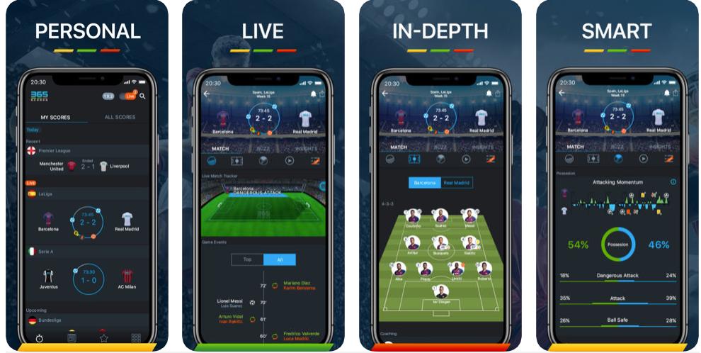 365 scores - best sports apps