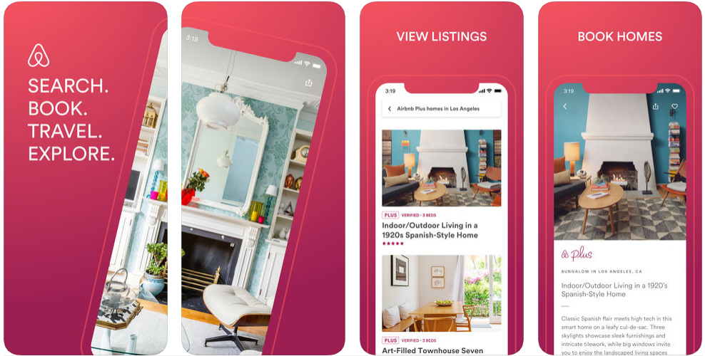 Airbnb - best iphone apps