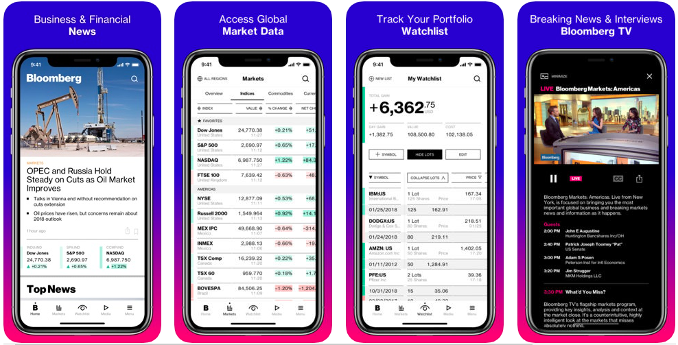Bloomberg - stock trading apps uk