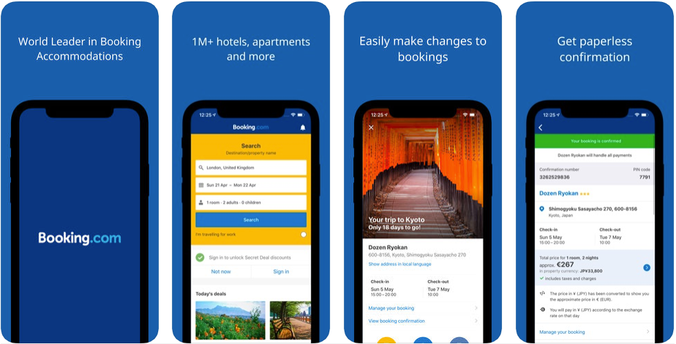 booking - hotel booking apps