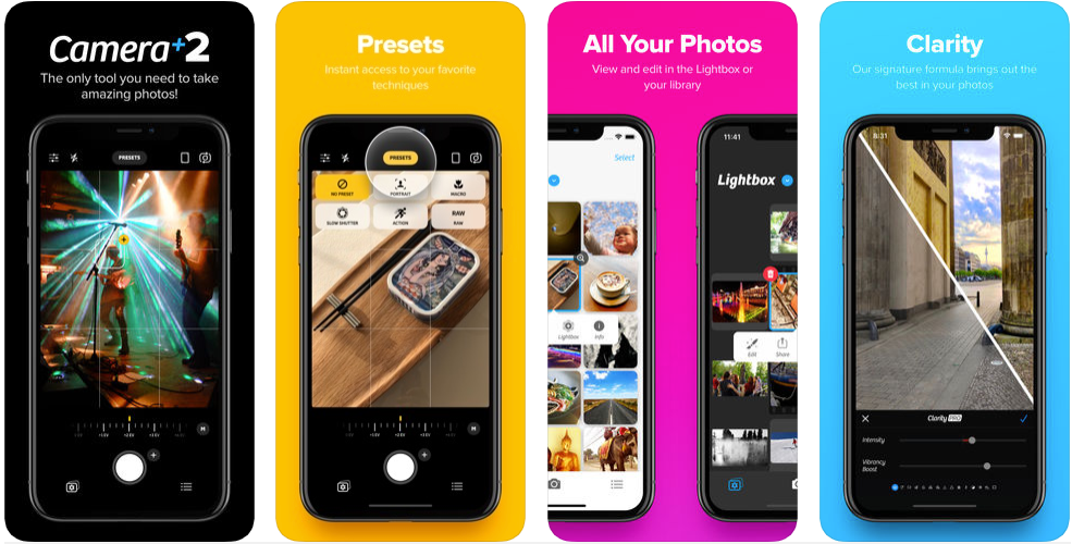 camera +2 - best iphone apps
