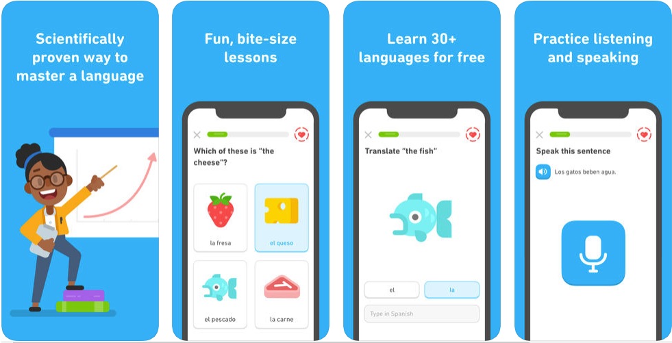 Duolingo - kids learning apps
