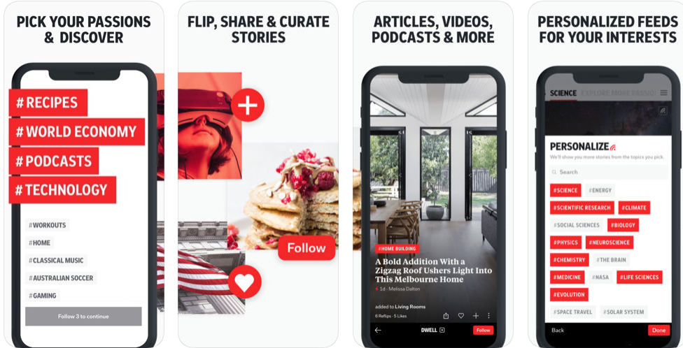 flipboard - android apps