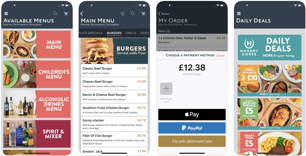 hungry house - food delivery apps