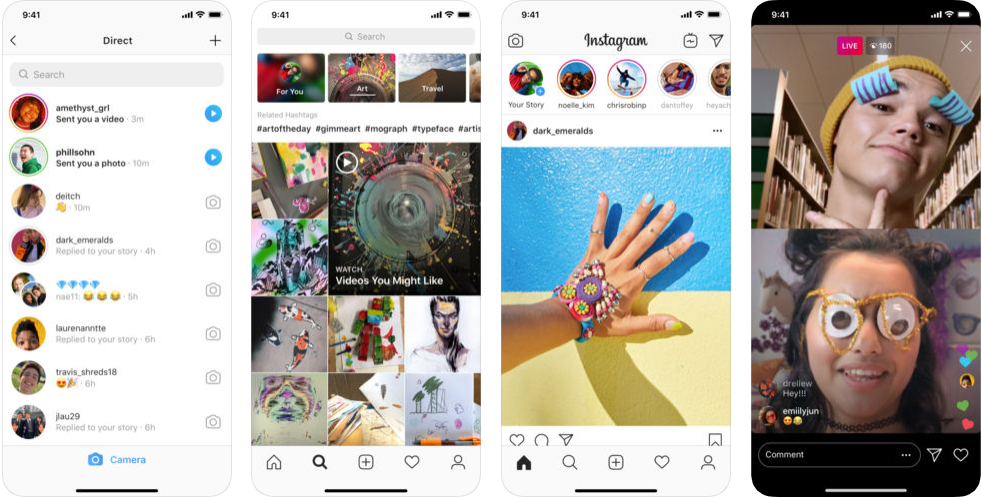 Instagram app - free social media apps in uk