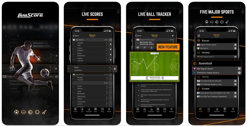 live score - best sports apps