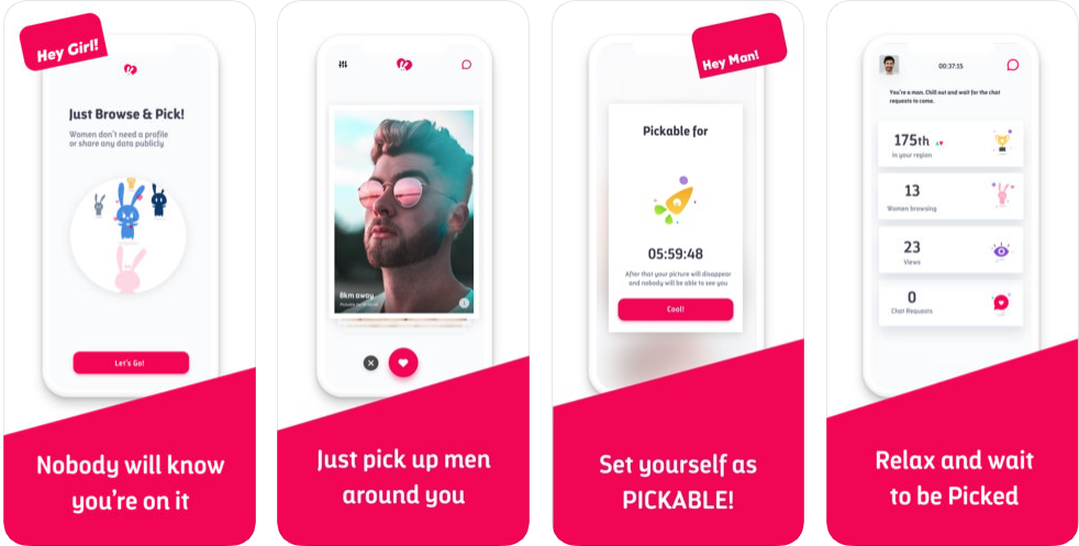 pickable - free dating apps