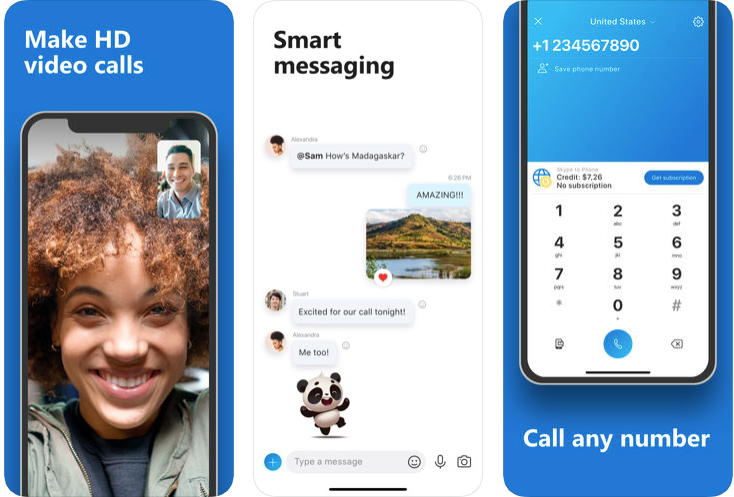 skype - android apps