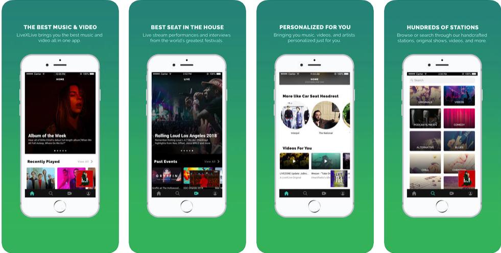 slacker radio -free music apps