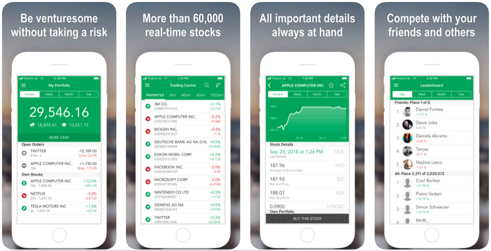 Stock Market Simulator - stock trading apps uk