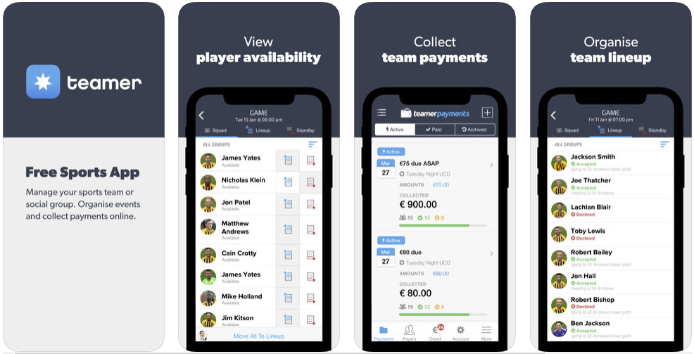 teamer - best sports apps