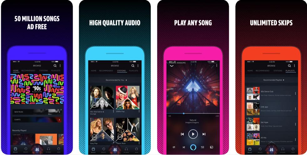 amazon music -free music apps