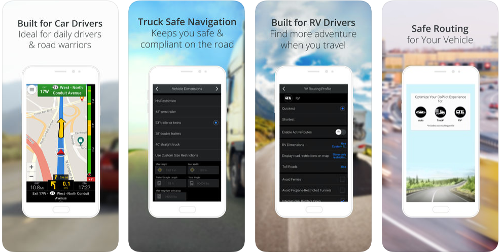 co pilot - gps tracking apps