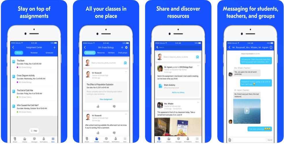 edmodo - educational apps