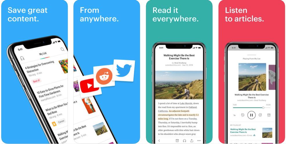 pocket - educational apps