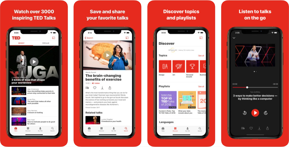 ted - educational apps