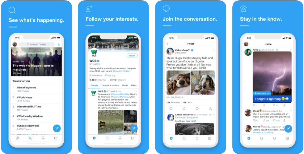 twitter app - free social media apps in uk