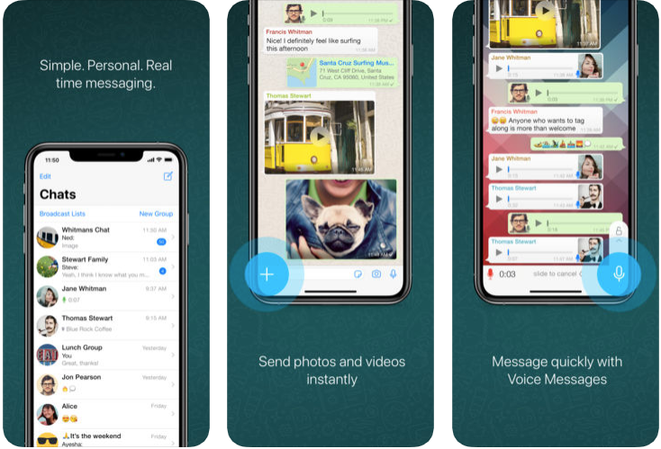 whats app - messaging apps