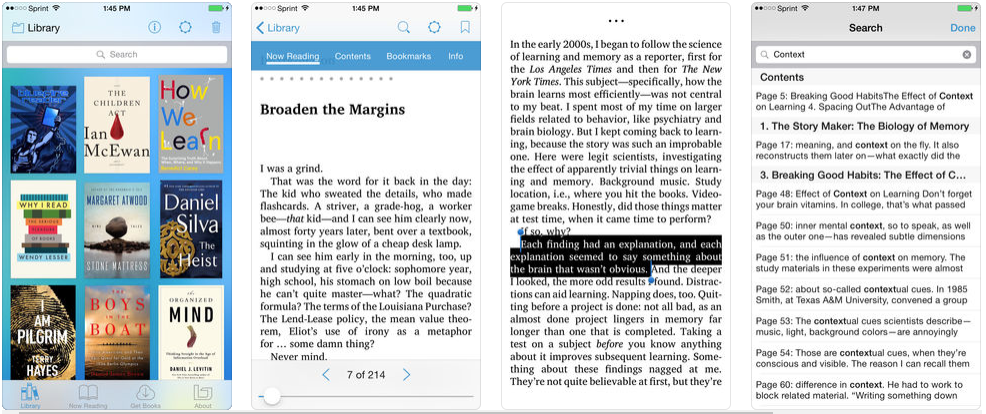Bluefire Reader - best ebook reader apps
