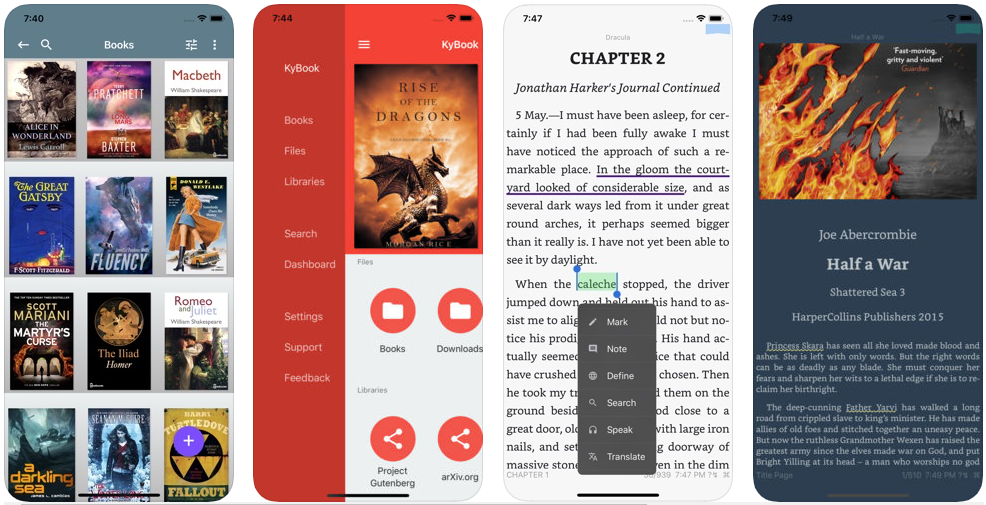 KyBook 2 - best ebook reader apps