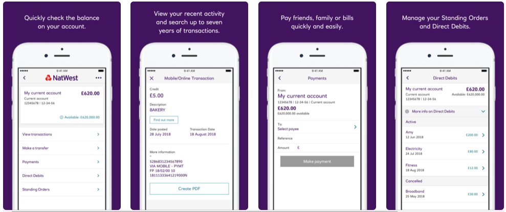NatWest - Mobile Banking Apps