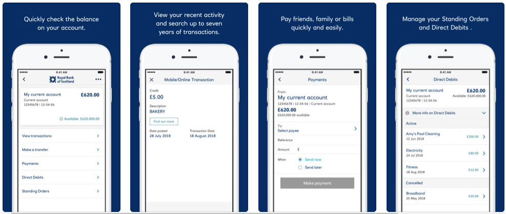Royal Bank of Scotland - Mobile Banking Apps
