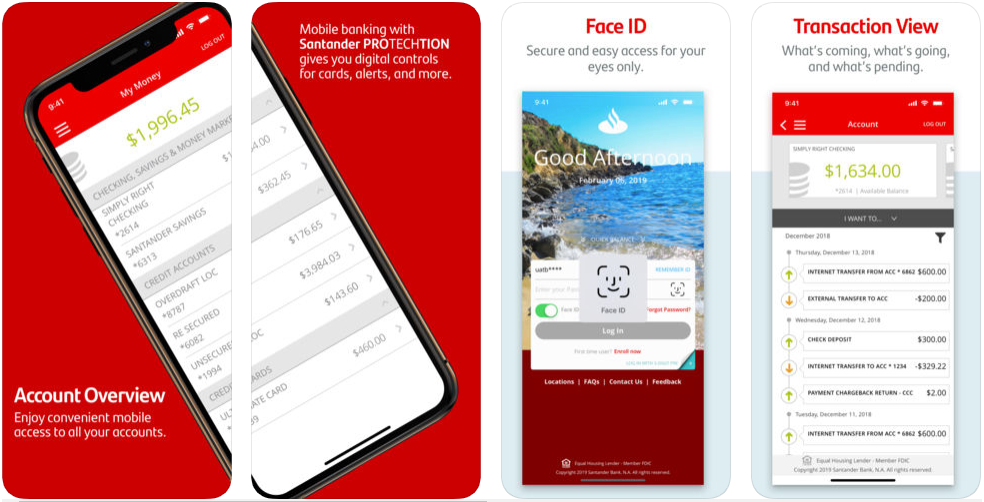 Santander Bank US - Mobile Banking Apps