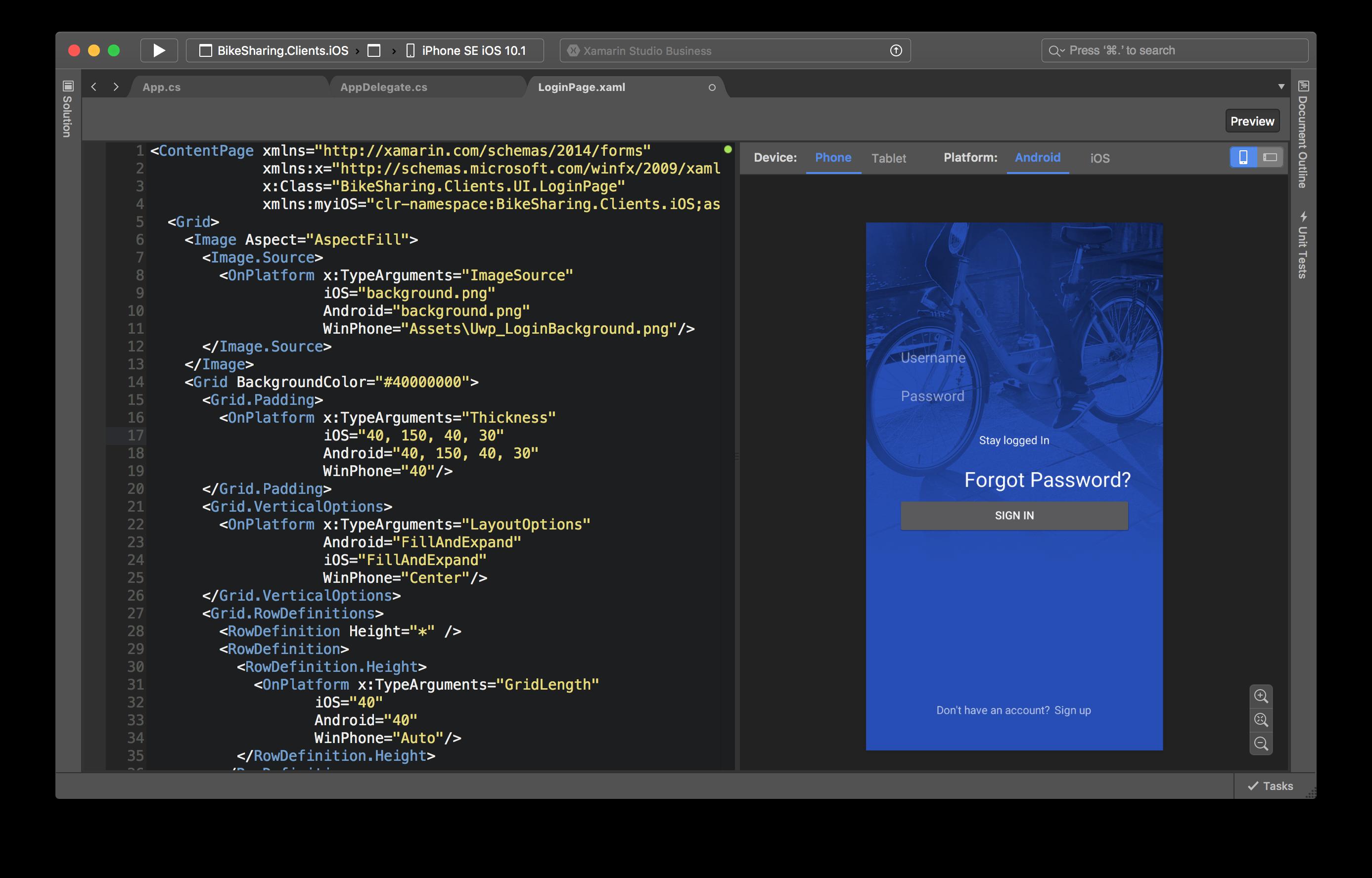 Xamarin - mobile app development frameworks