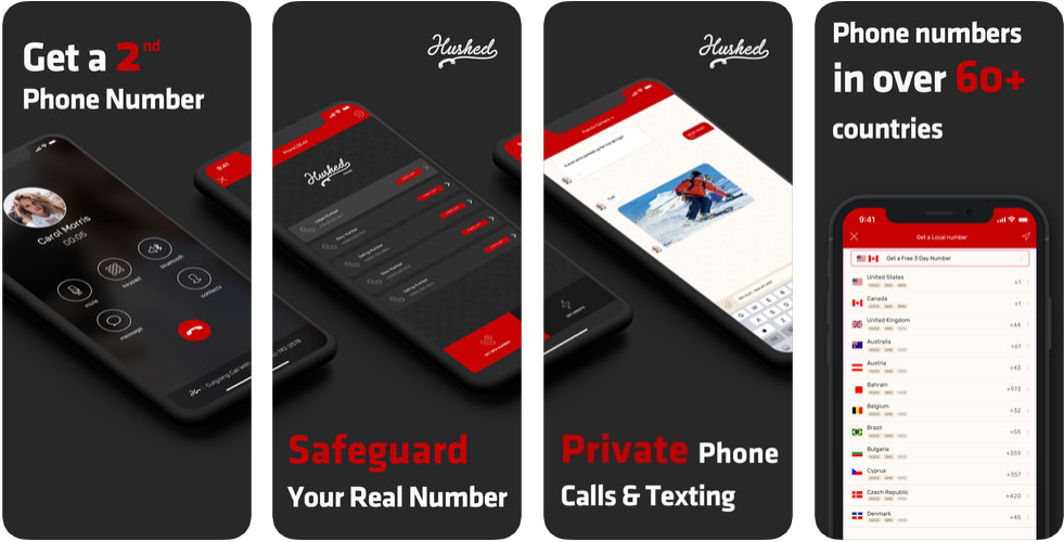 Hushed Second - privacy app