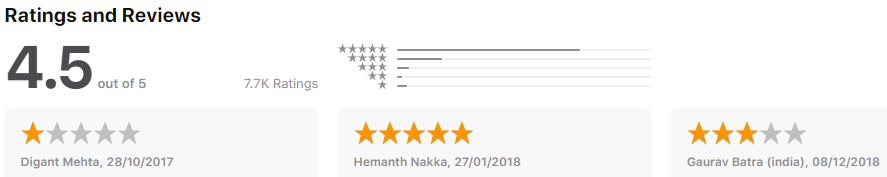 Blablacar - rating - ridesharing apps