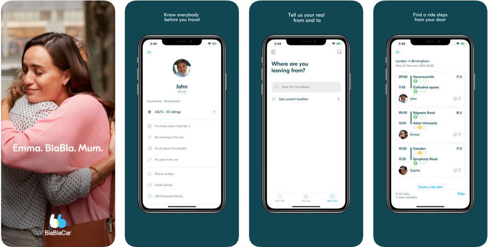 Blablacar - ridesharing apps