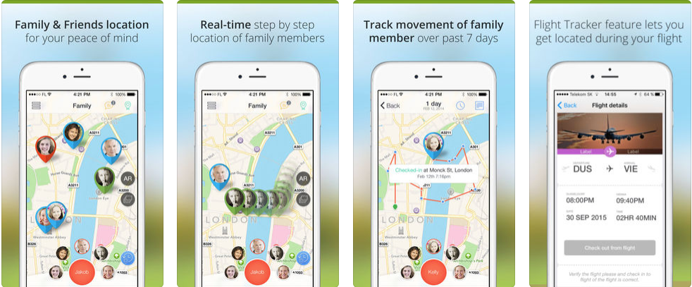 Family Locator - personal safety apps
