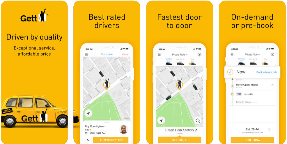 Gett - ridesharing apps