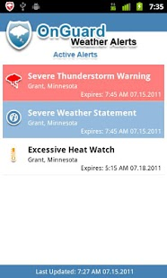 Ongaurd Weather - disaster management apps