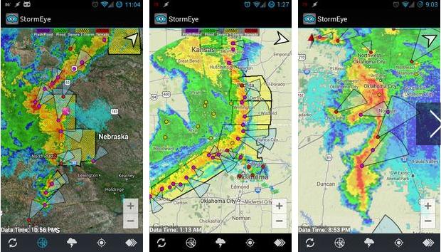 StormEye - disaster management apps