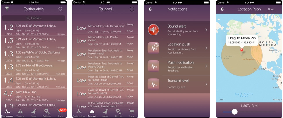 Tsunami Alert - disaster management apps