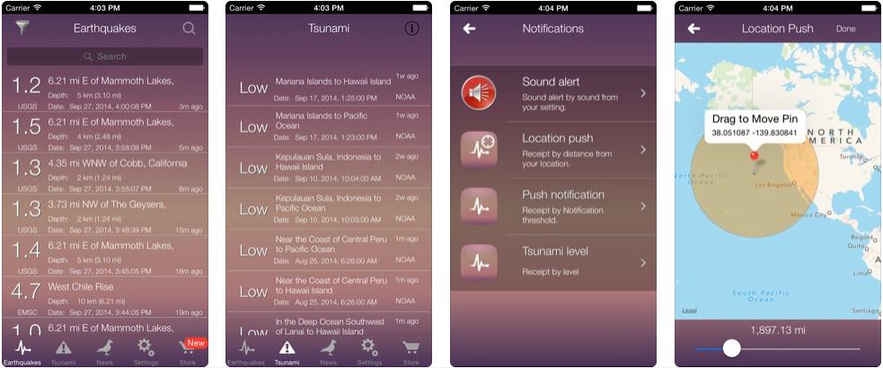 Tsunami Alert - disaster management apps