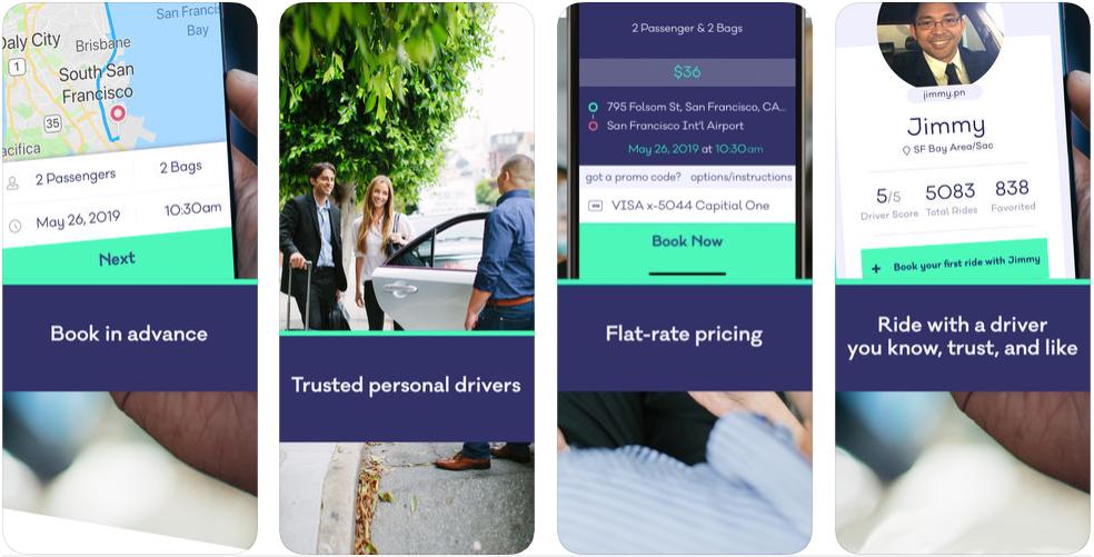 Wingz - ridesharing apps - ridesharing apps