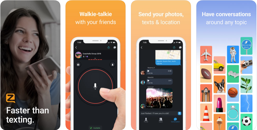 Zero walkie Talkie - disaster management apps