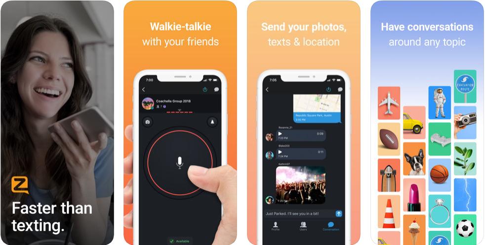 Zero walkie Talkie - disaster management apps