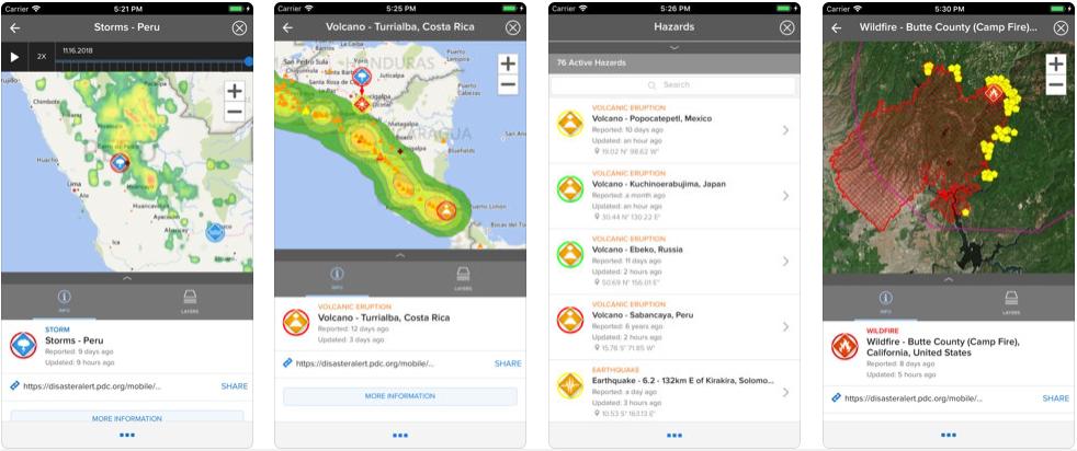 disaster alert - disaster management apps
