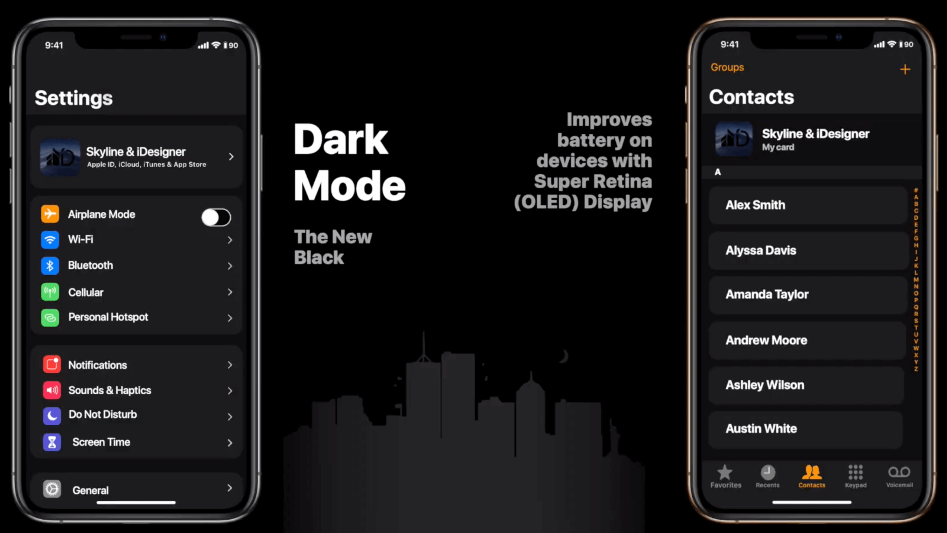 ios 13 darker mode