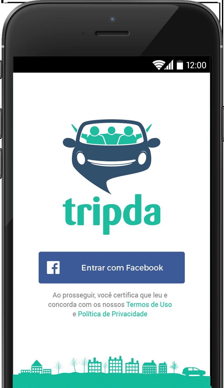 tripda app - ridesharing apps