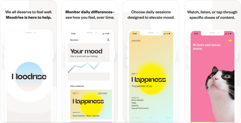 Moodrise - mental health apps